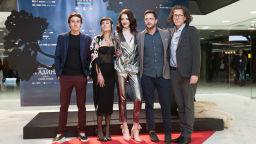 """Зала 1 на НДК почете на крака Никола Анастасов във филма """"Безкрайната градина"""""""