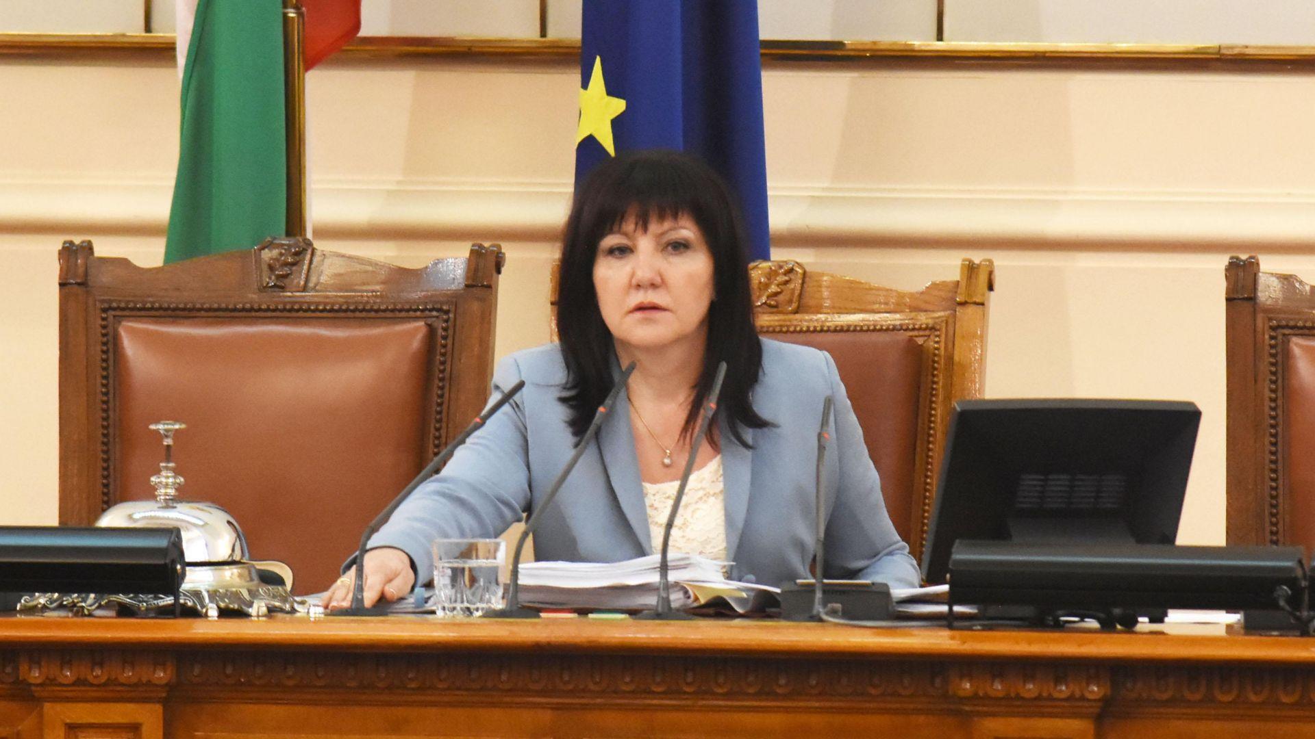 Цвета Караянчева очаква коалицията с НФСБ да се запази