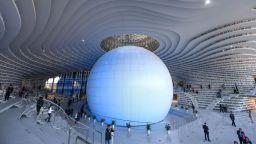 """В Китай откриха библиотека - """"летяща чиния"""", с 1,2 милиона книги"""