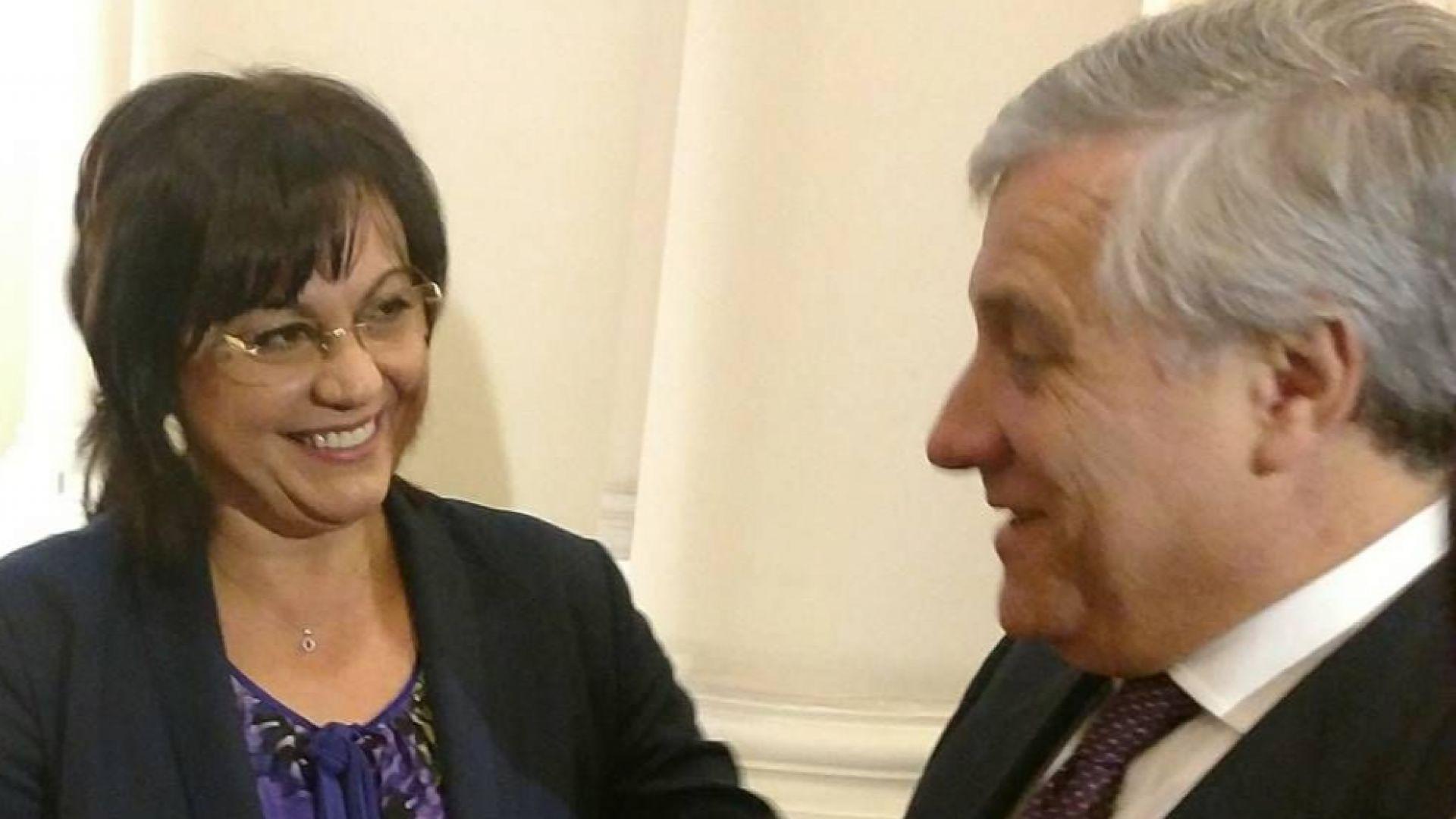 Шефът на Европарламента смъмри Джамбазки за заплахите към БСП