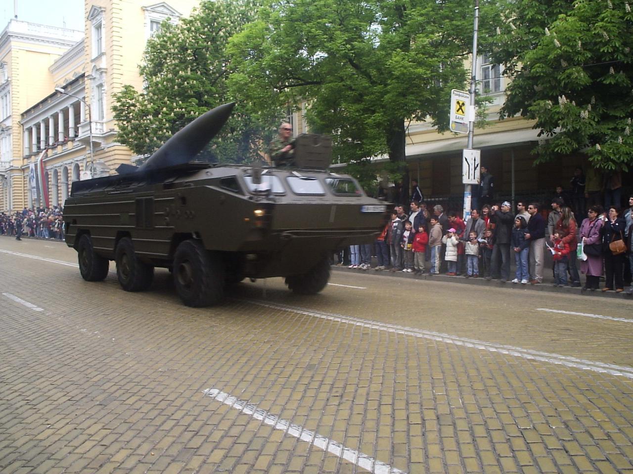 Най-мощната ракета в арсенала на България