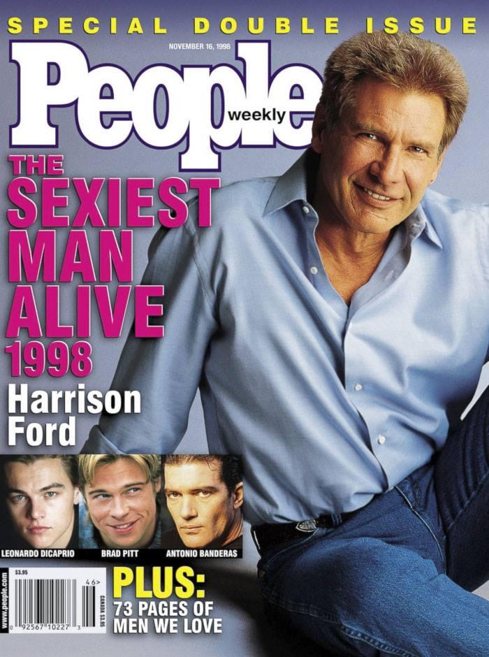 Харисън Форд на корицата на People