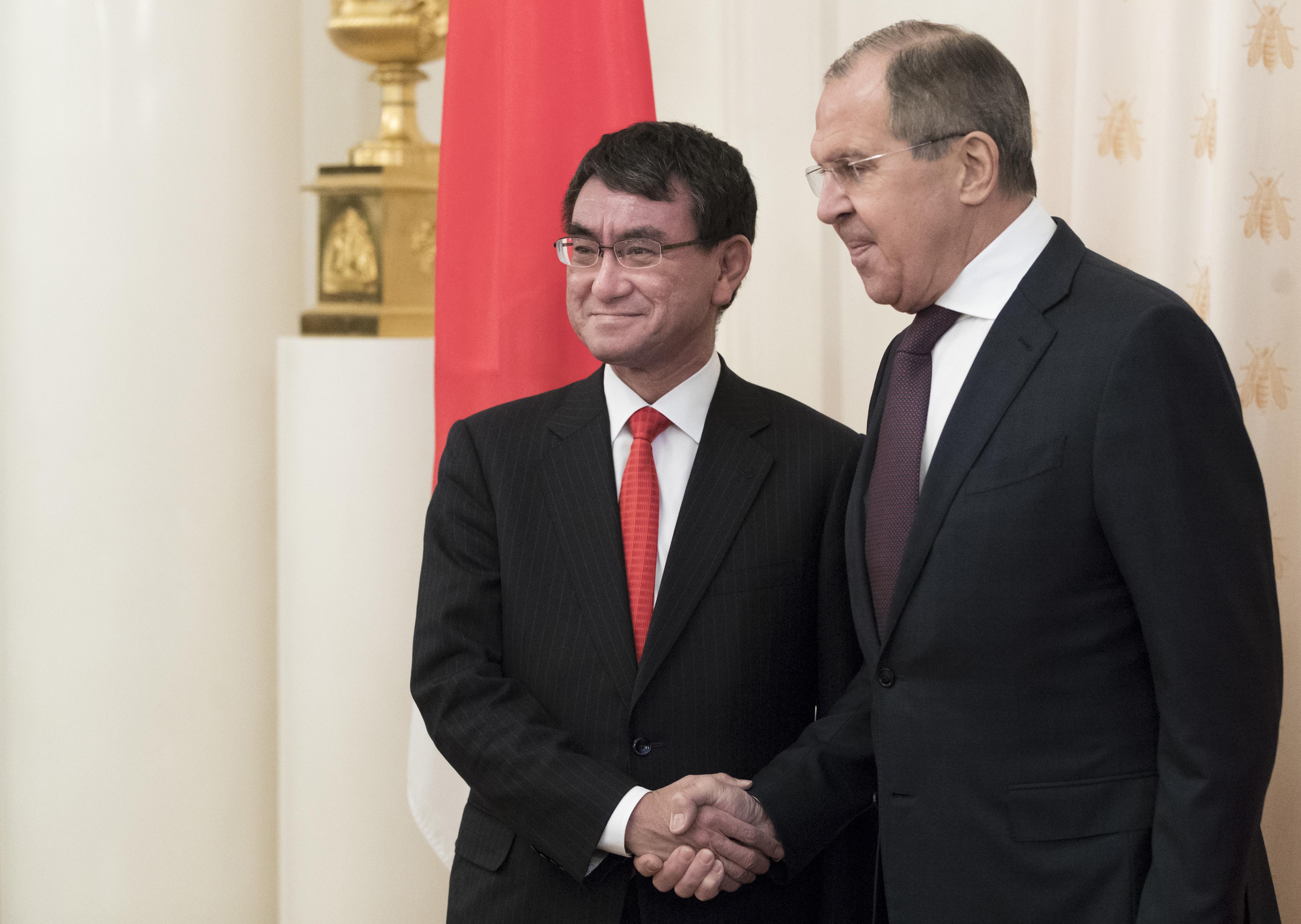 Русия и Япония имат напредък в спора за Курилските острови