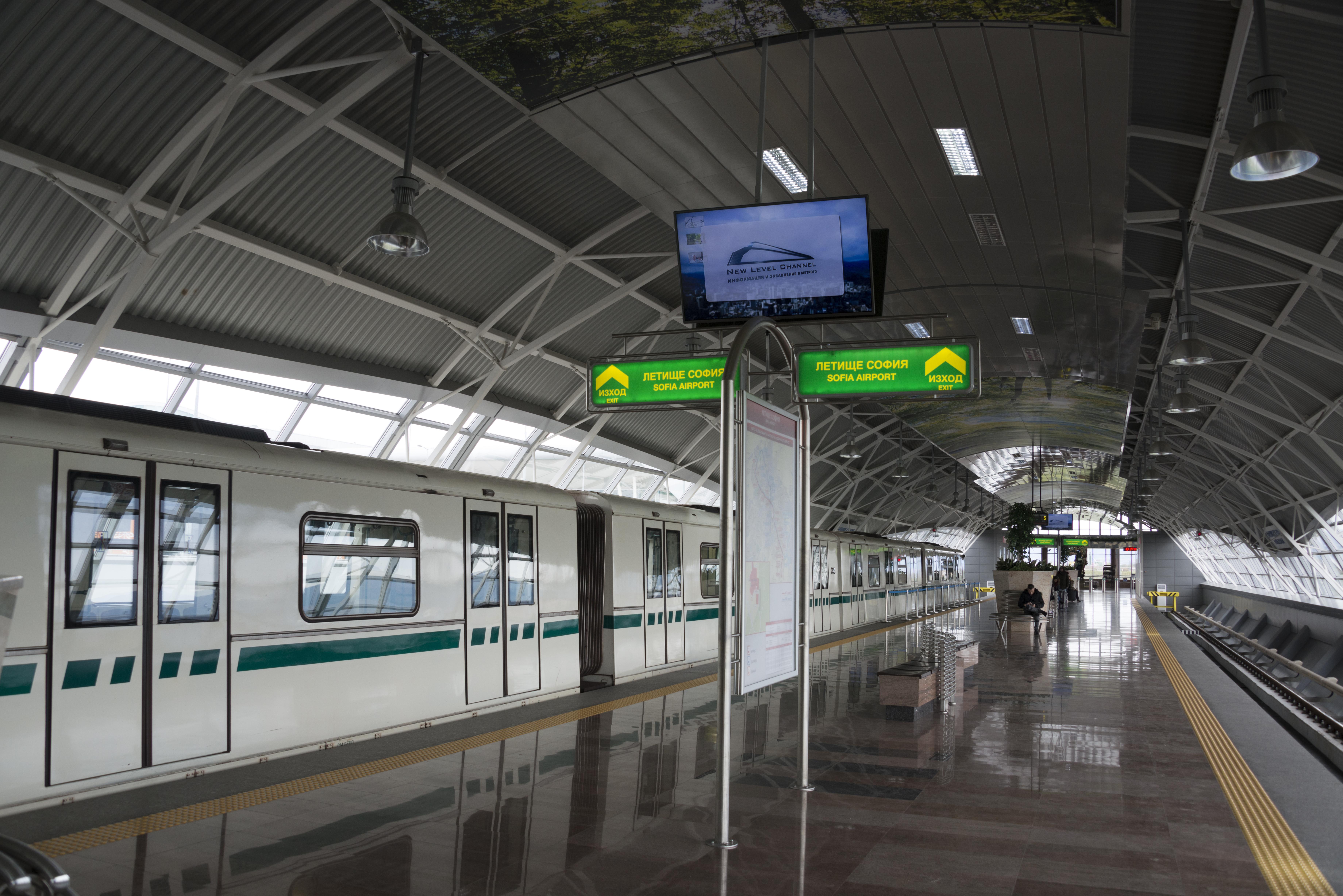 Софийското метро е сред 10-те най-успешни проекта в Европа