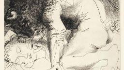 100 гравюри на Пикасо, продадени за 1,9 милиона евро