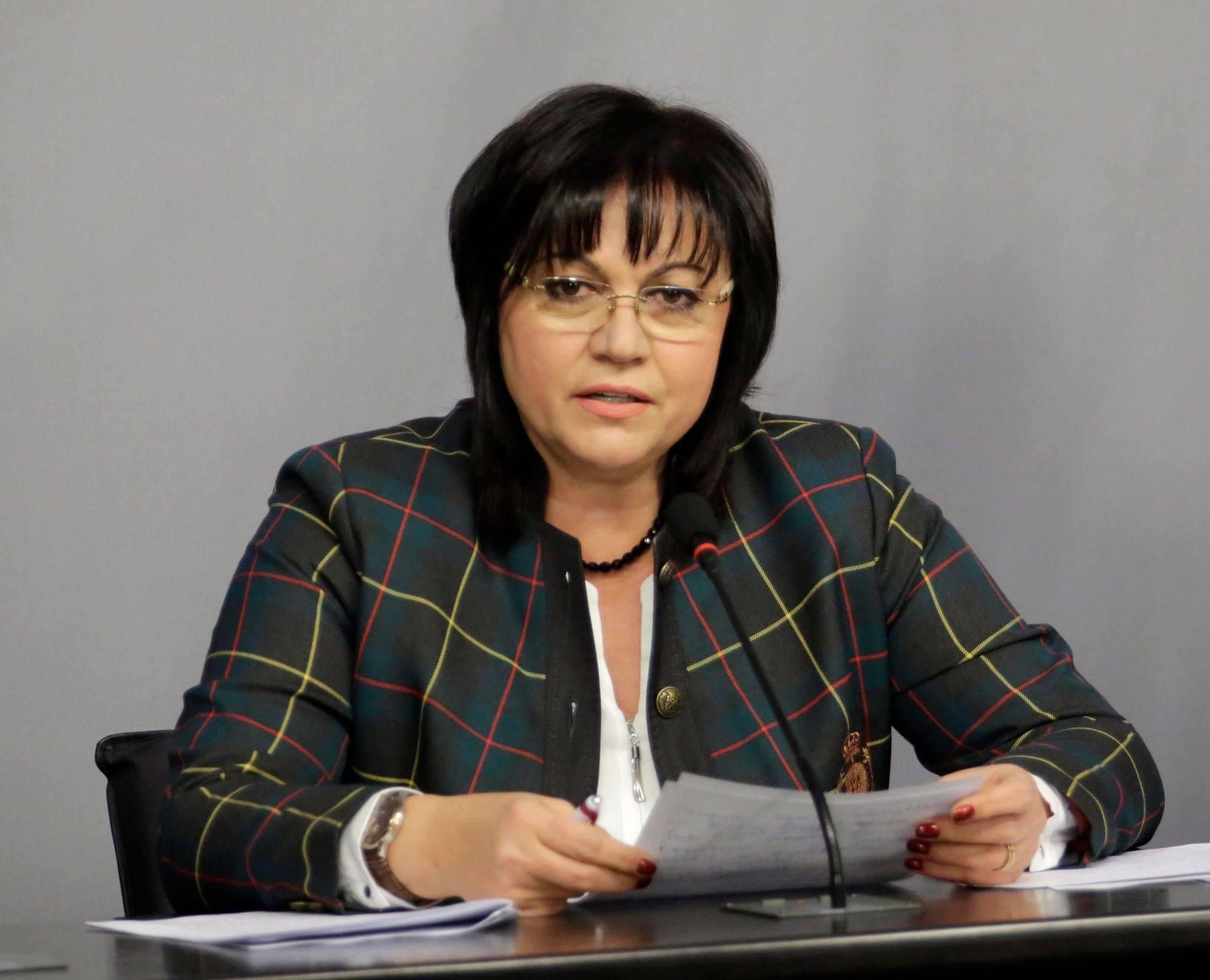 Нинова: Сметната палата да каже за извънбюджетните за МВР