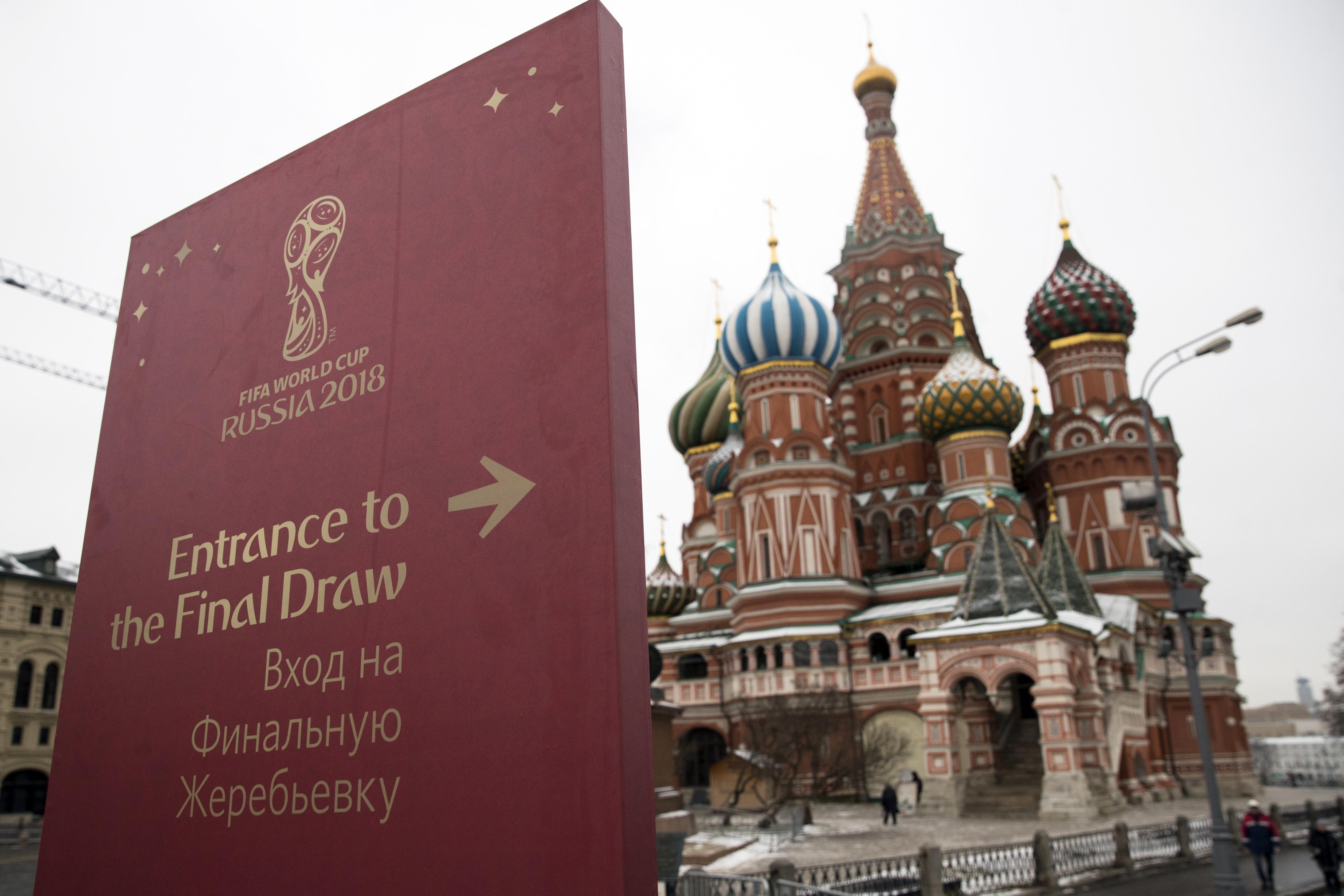 Русия продаде 1,7 милиона билети за Световното