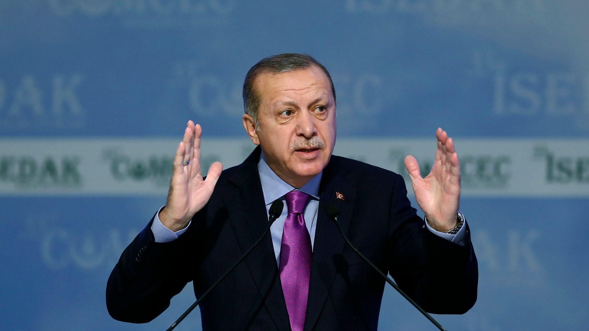 Ердоган се закани на Австрия заради изборната агитация