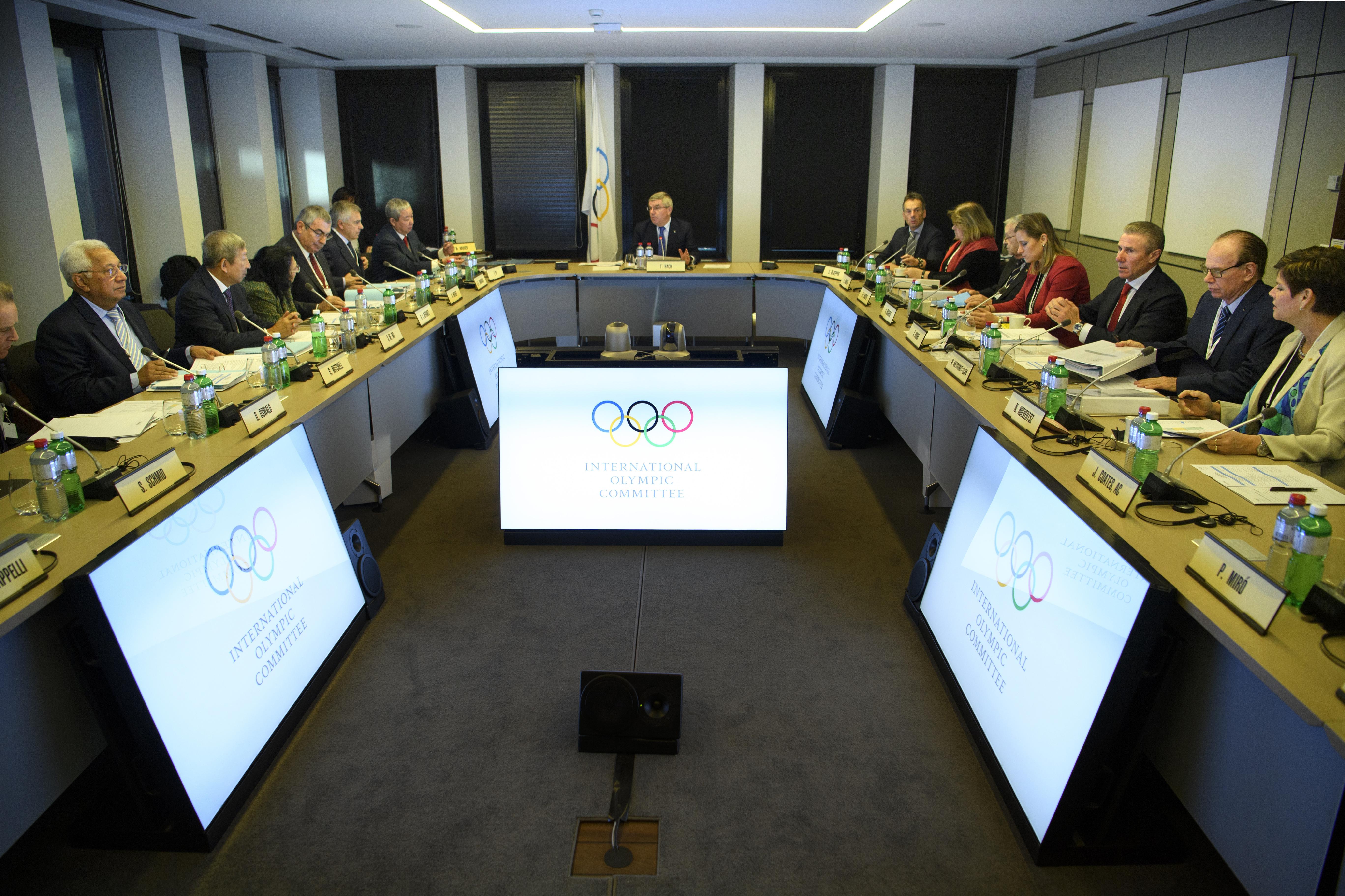 МОК официално спря Русия за Олимпиадата