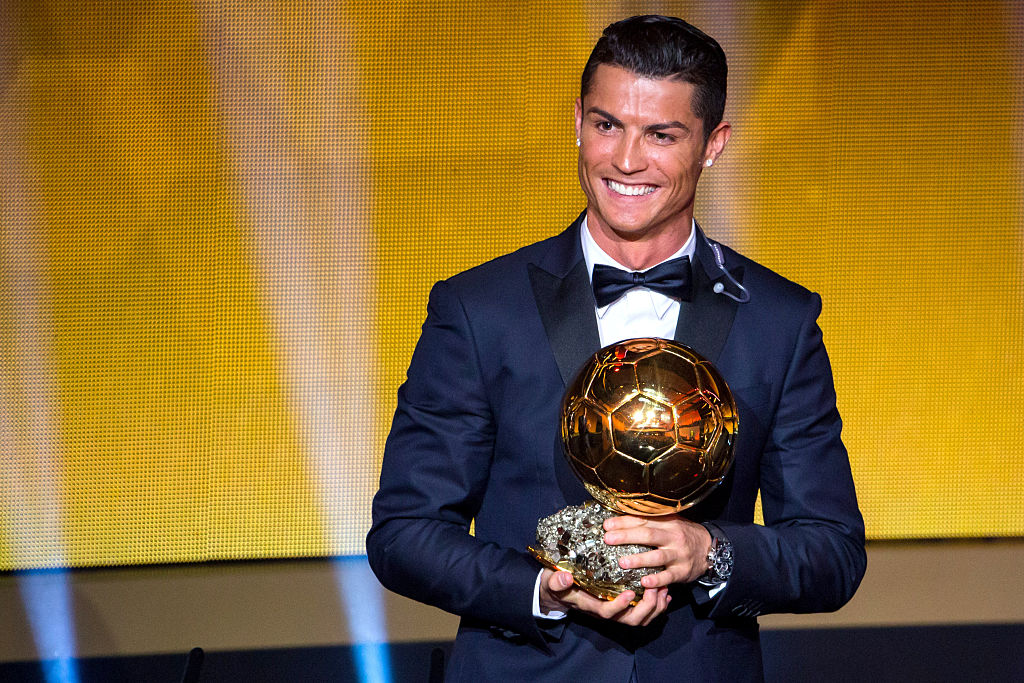 "Пета ""Златна топка"" за Кристиано Роналдо"