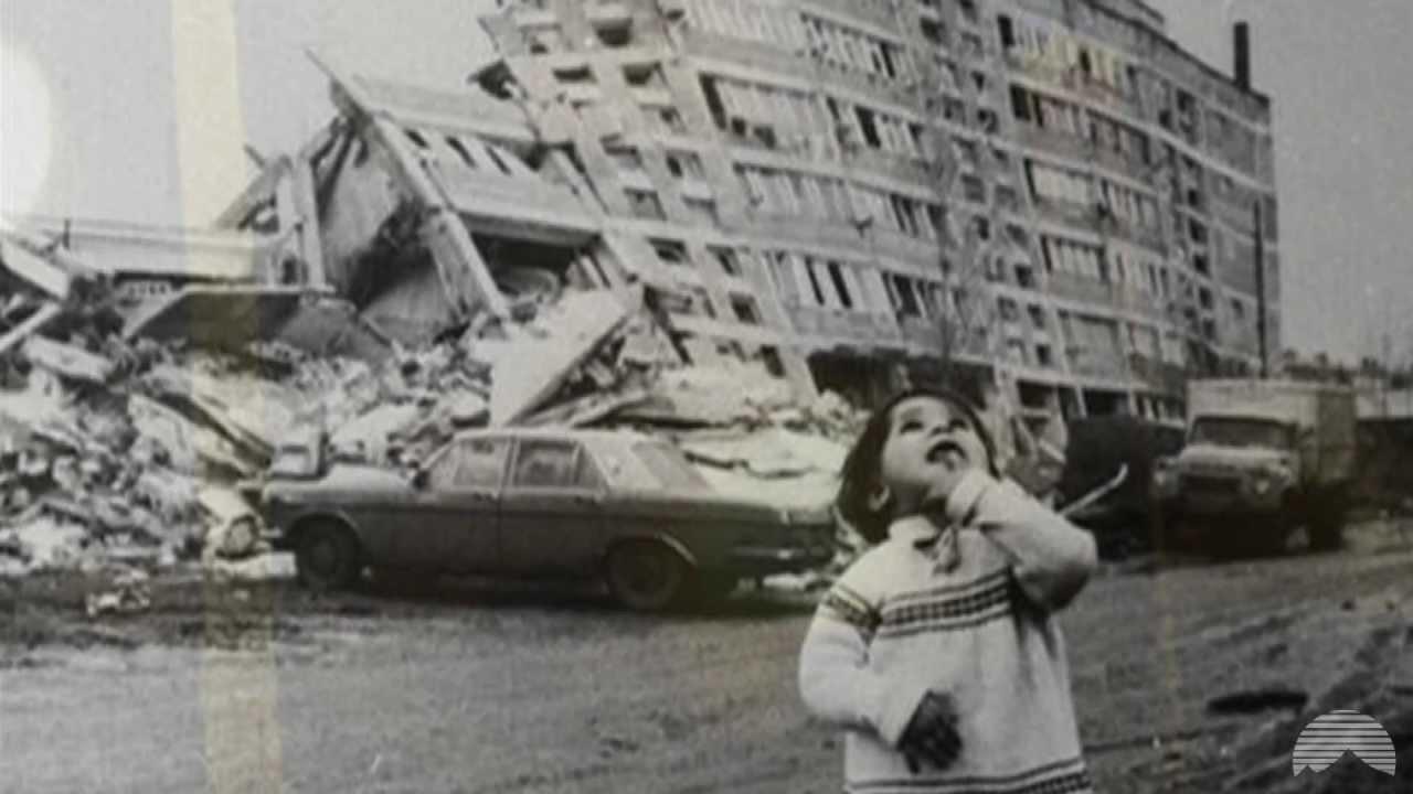 Земетресението, което почти унищожи Армения