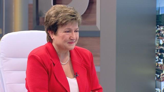 Кристалина Георгиева даде прогноза за еврото и Шенген