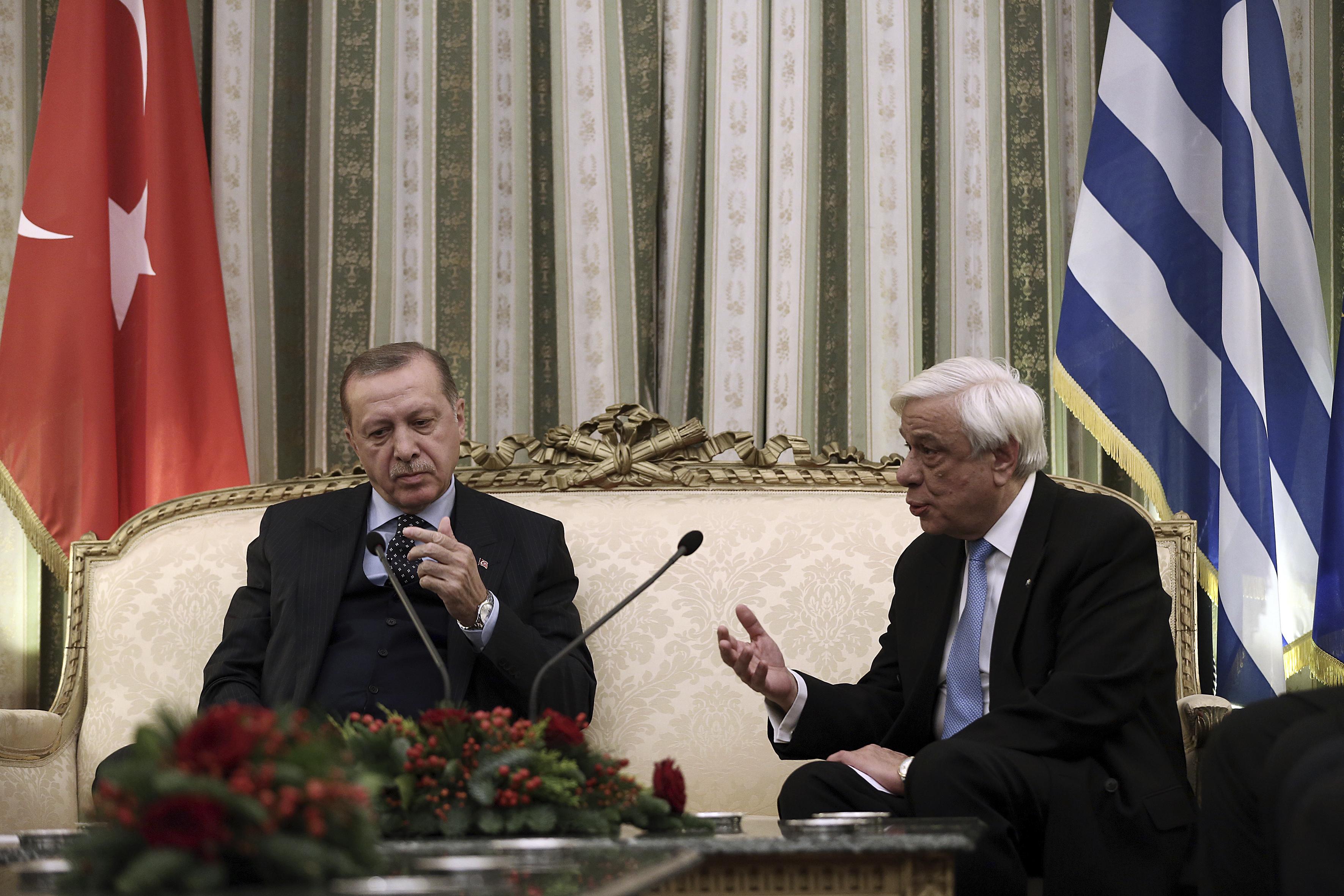 Павлопулос и Ердоган се спречкаха за Лозанския договор
