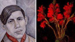 Художникът, който рисувал гол поради бедност