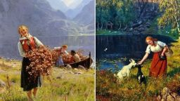 Завръщане към пасторалната живопис на Юхан Дал