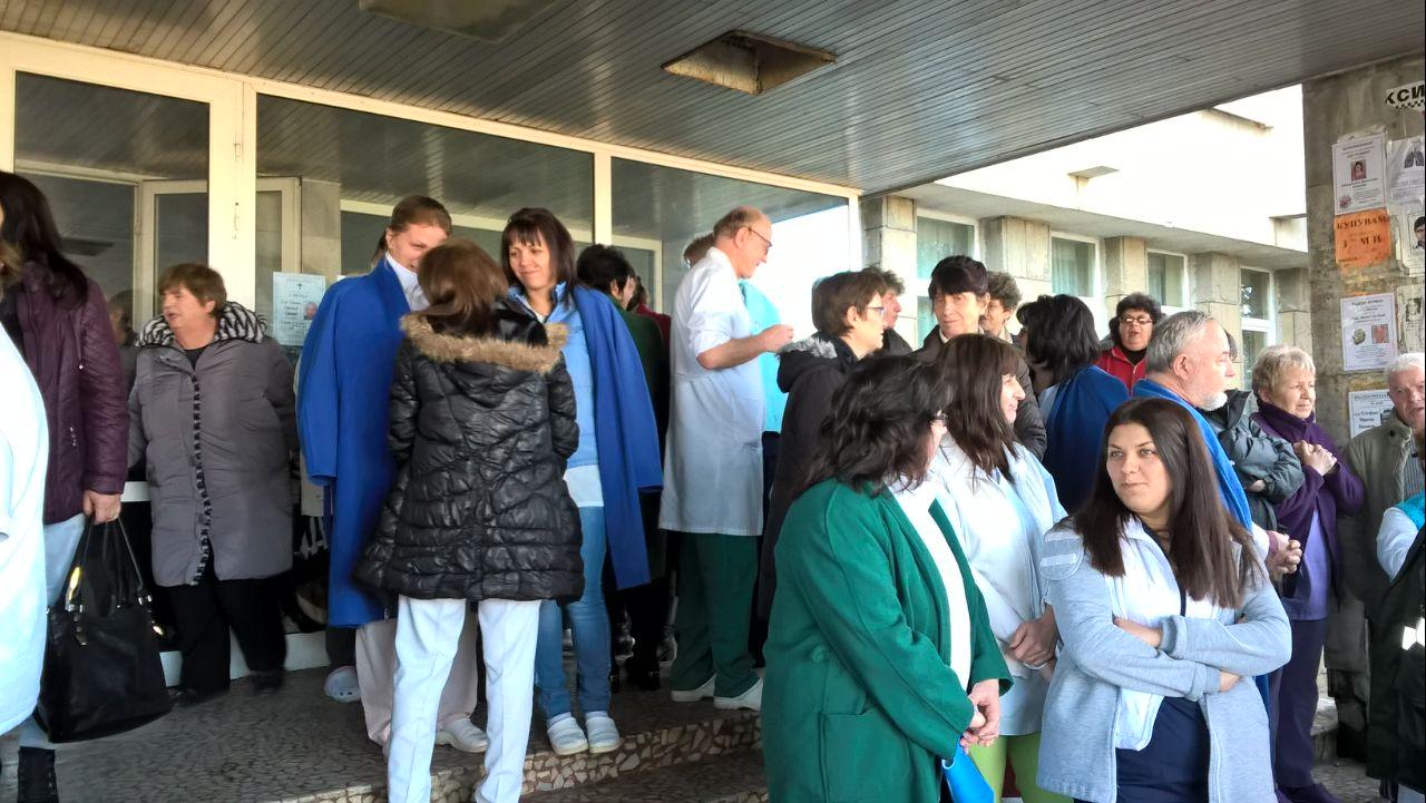 Лекари и сестри от болницата в Ловеч подадоха оставки
