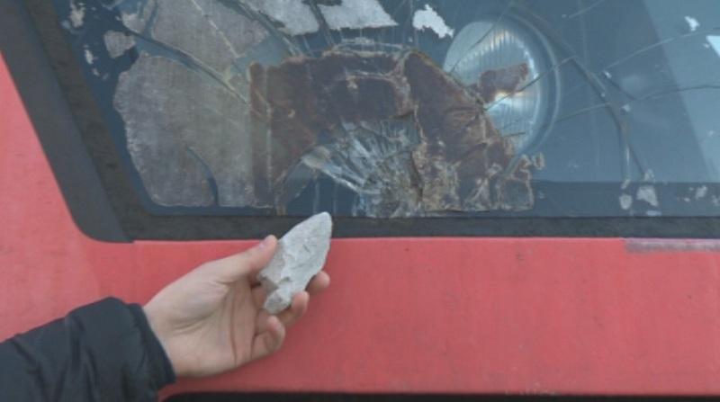 Война с камъни: Над 80 атаки срещу влакове