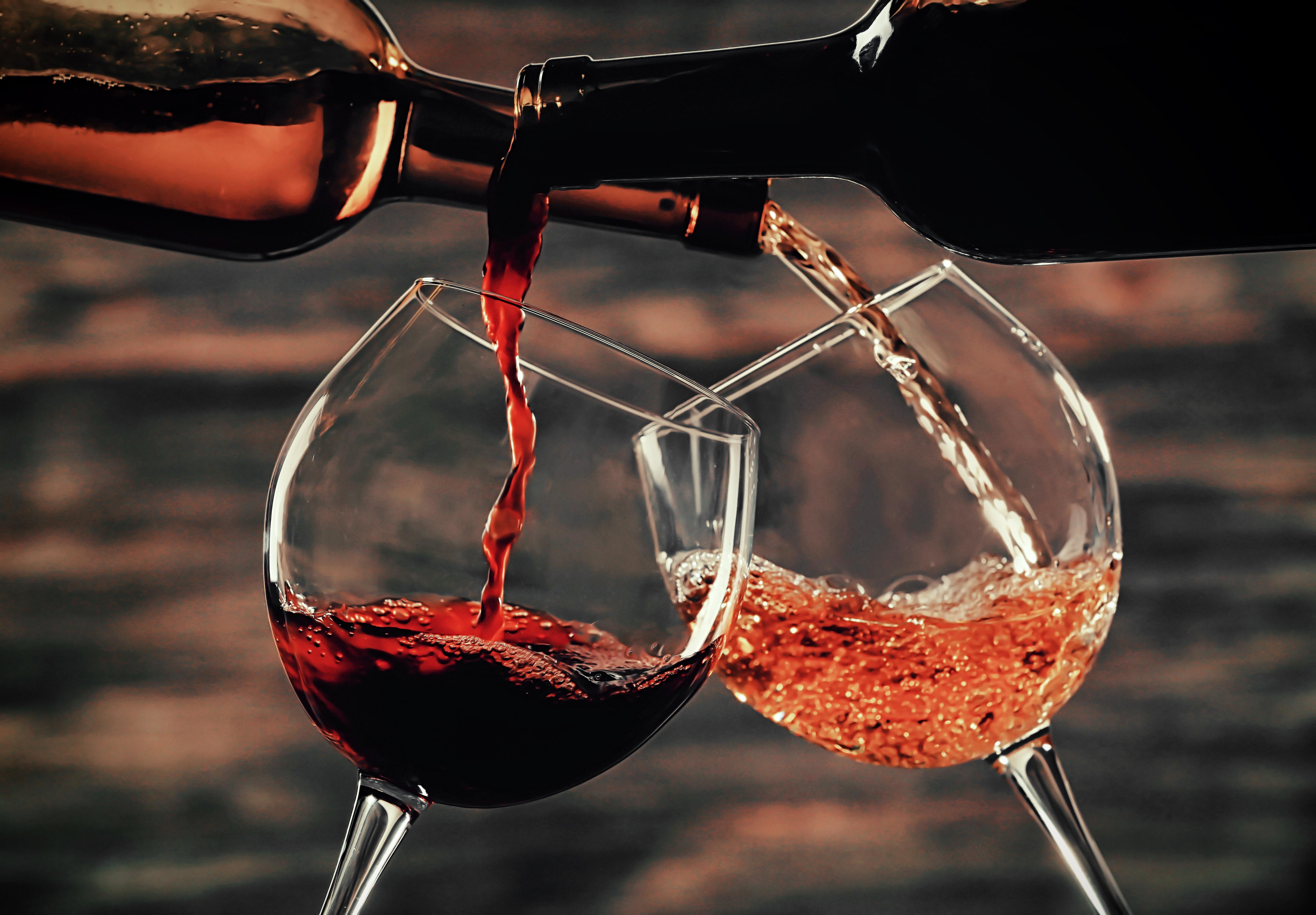 Картинки вино в бакалах