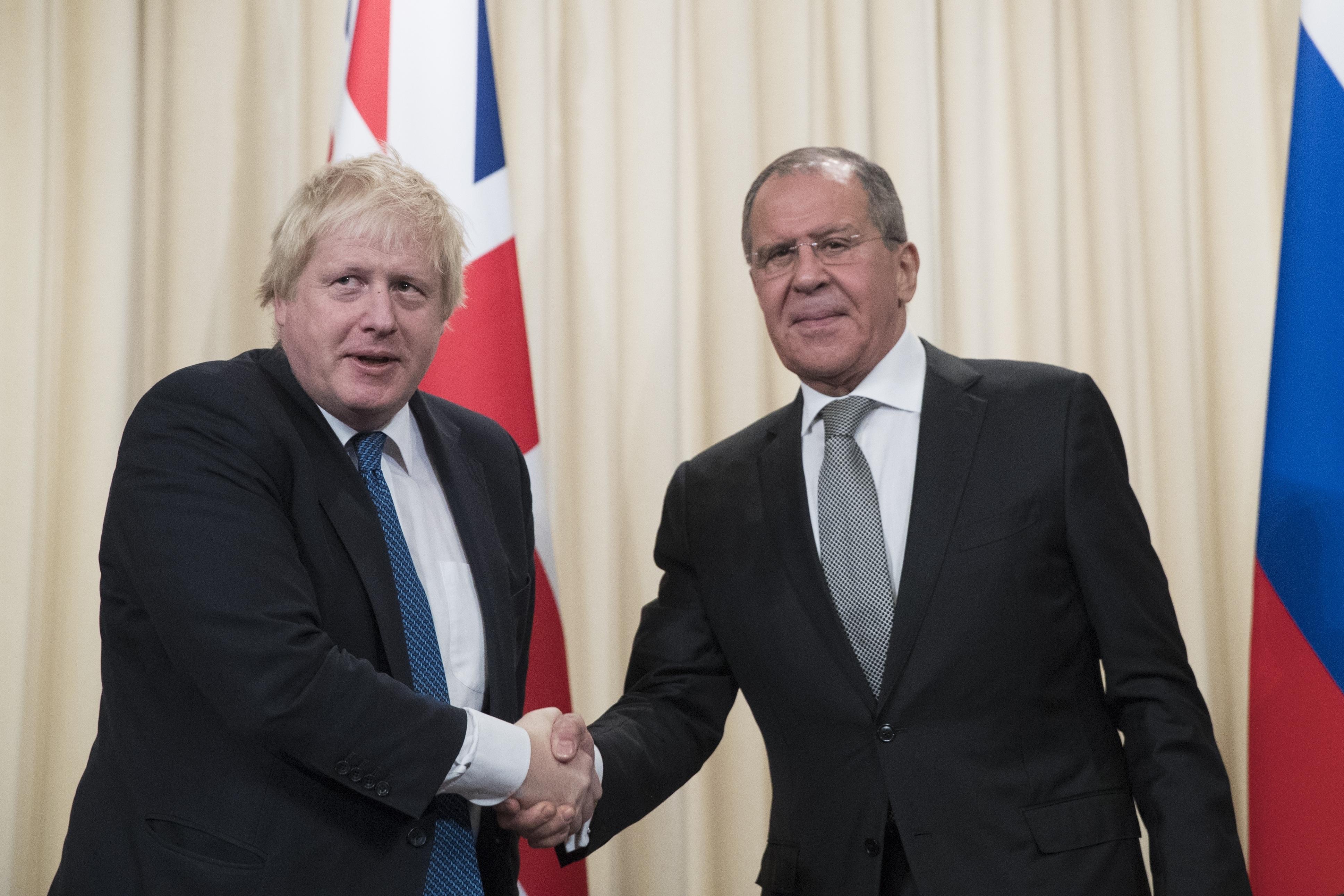 Борис Джонсън в Москва: Аз съм убеден русофил