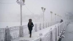 Това е Оймякон - най-студеното населено място на Земята