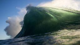 Замръзналите морски вълни на Рей Колинс