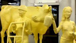Фермерското изложение в Пенсилвания прави конкурс за скулптури от масло