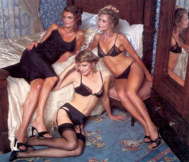 """Ангелите"" на Victoria's Secret през 1980 г."