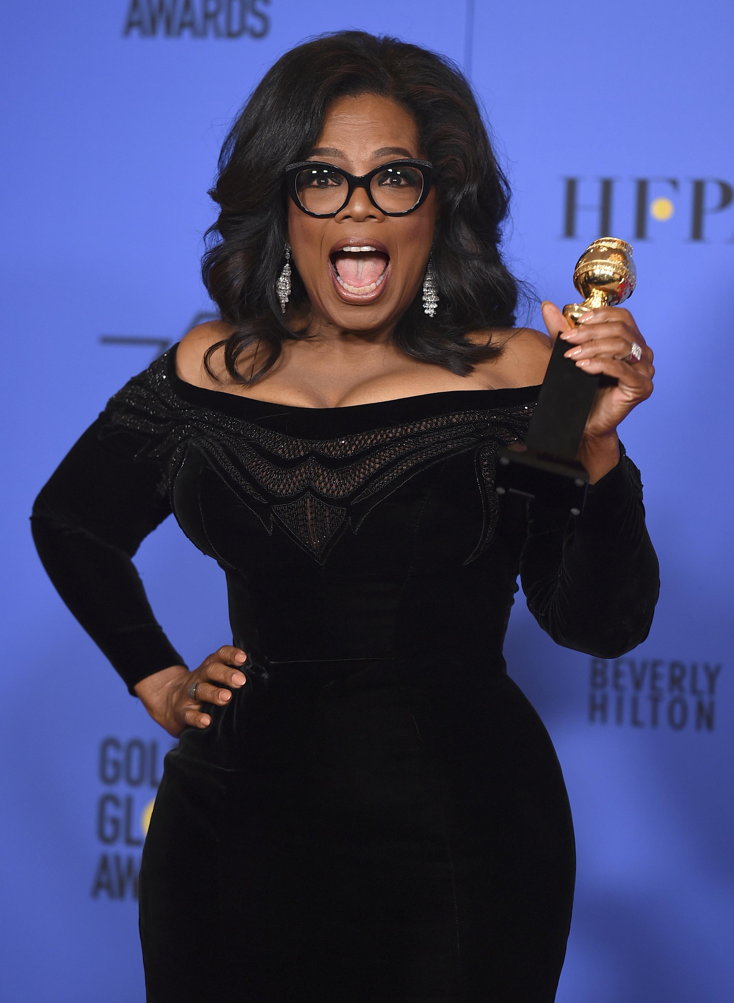 """Опра Уинфри стана първата афроамериканка със """"Златен глобус"""""""
