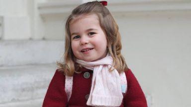 Шарлот на 3 годинки! Вижте незабравими кадри на принцесата