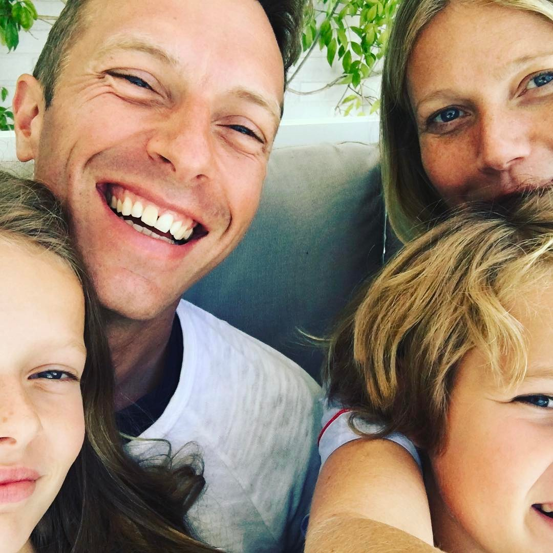 Гуинет Полтроу у Крис Мартин с децата им