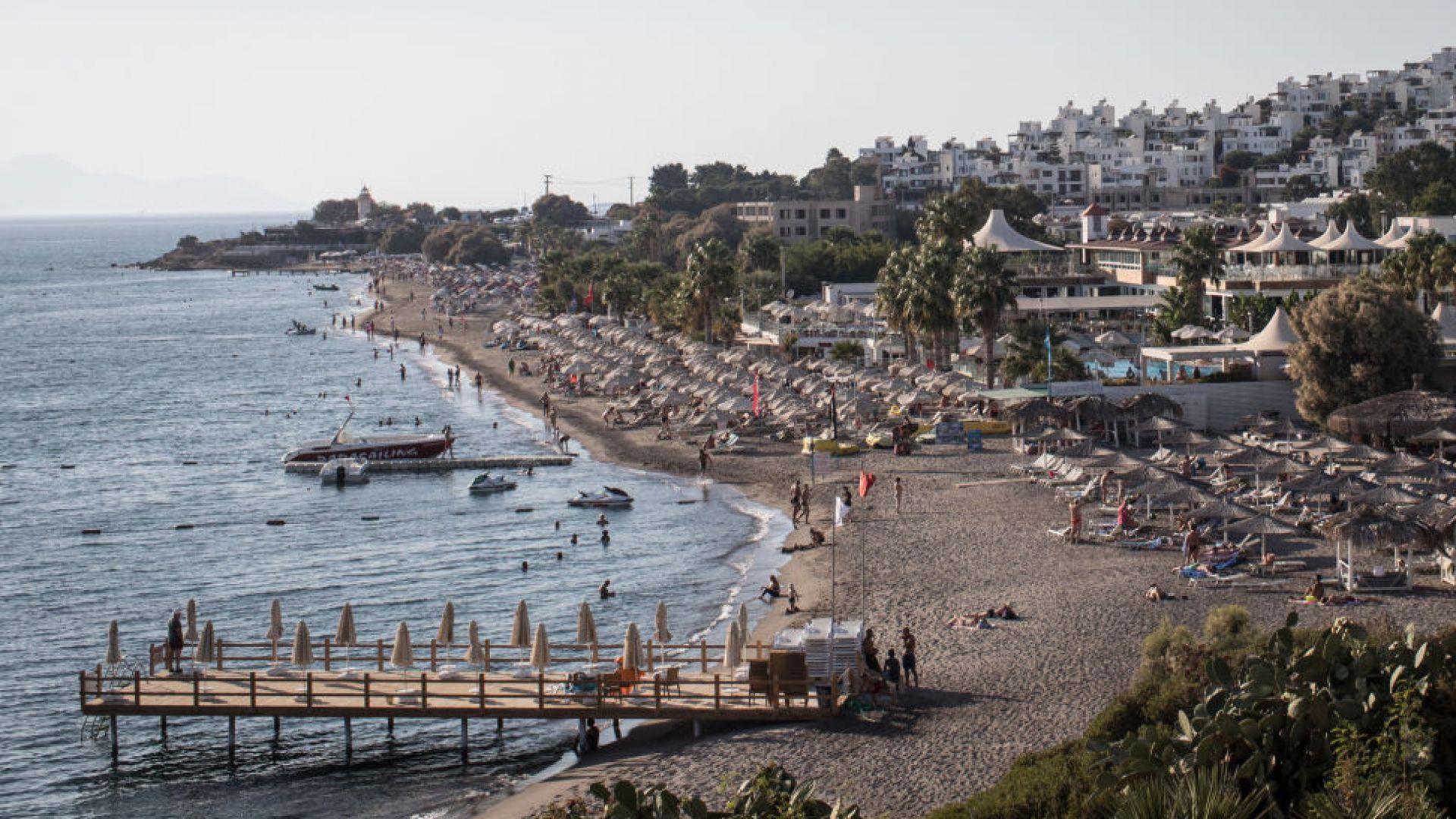 Наплив на британски туристи в Турция