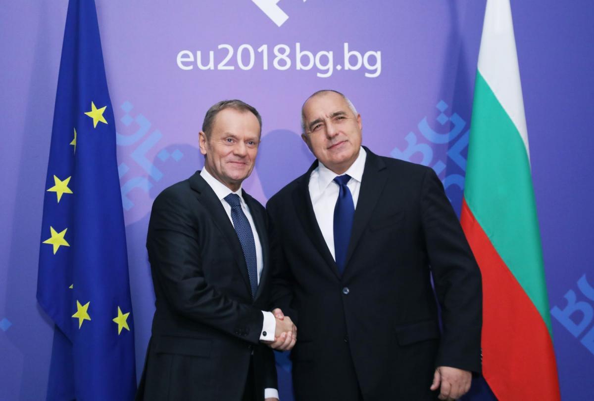 Борисов пред Туск: Турция е важен партньор за ЕС