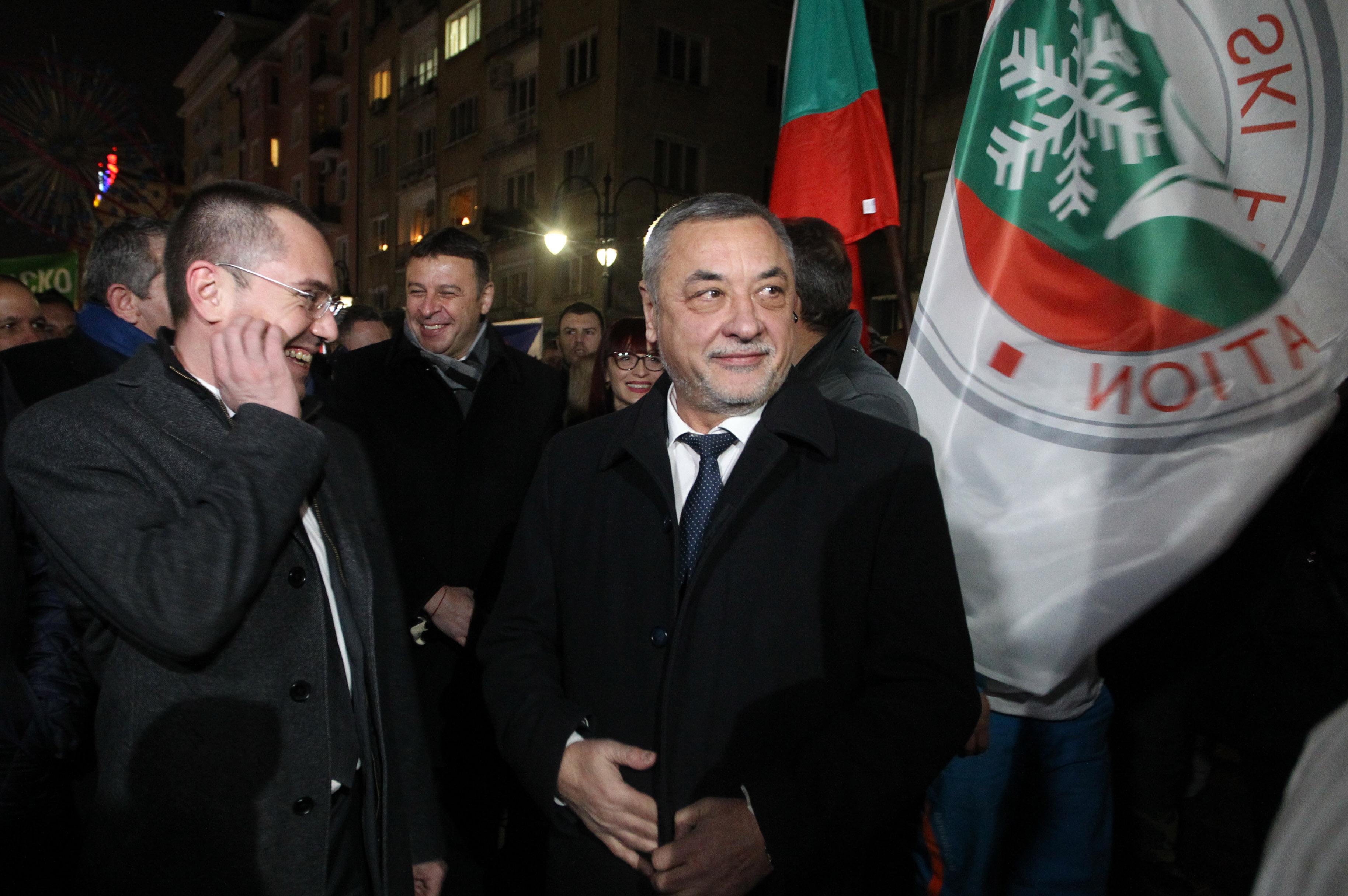 """Симеонов на протеста """"Искам да карам ски в България"""""""