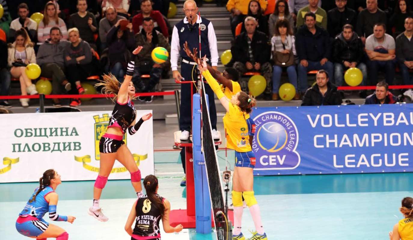 """Сръбският шампион бе твърде силен за """"Марица"""""""