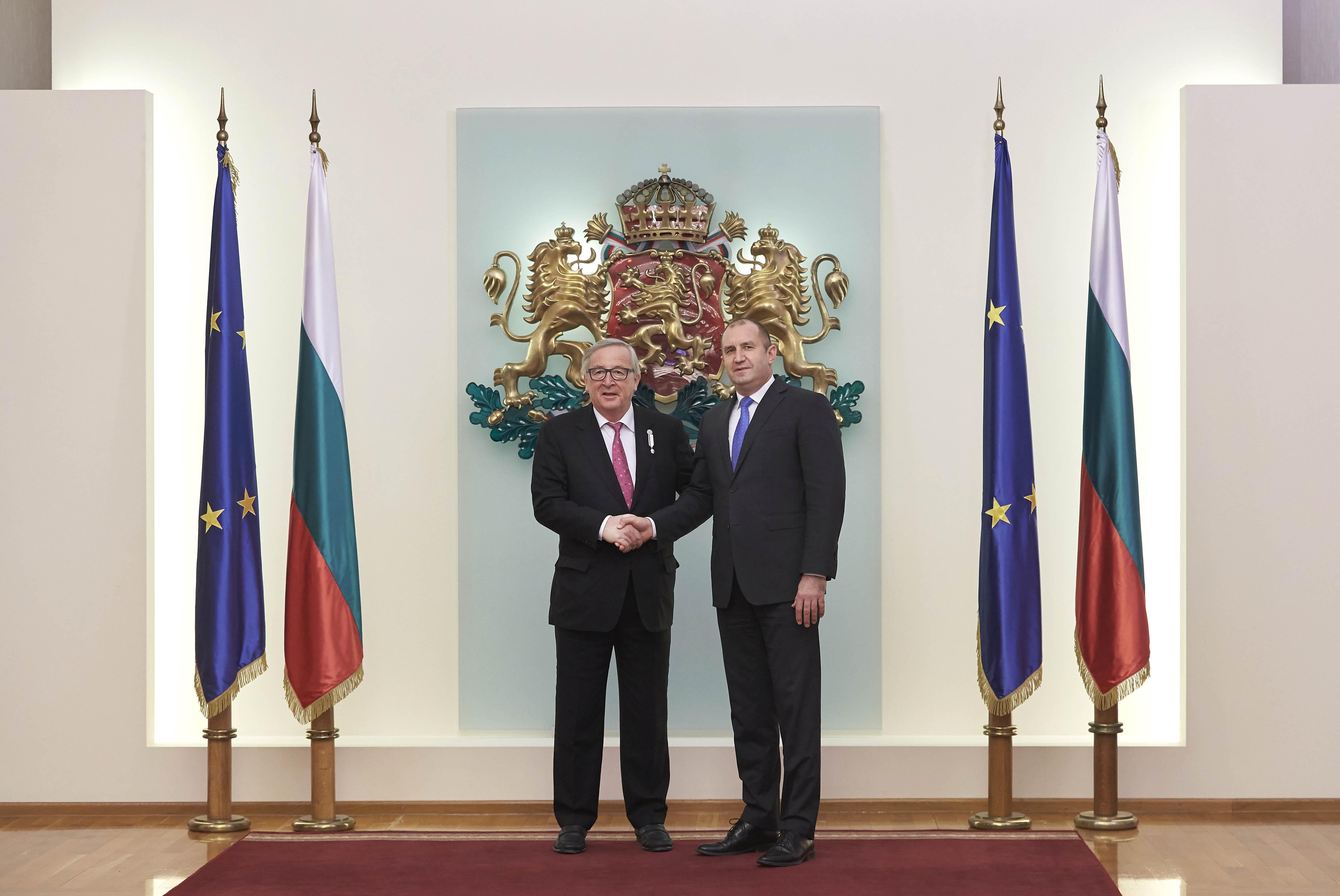 Радев: Институциите ни ще работят за по-силен ЕС