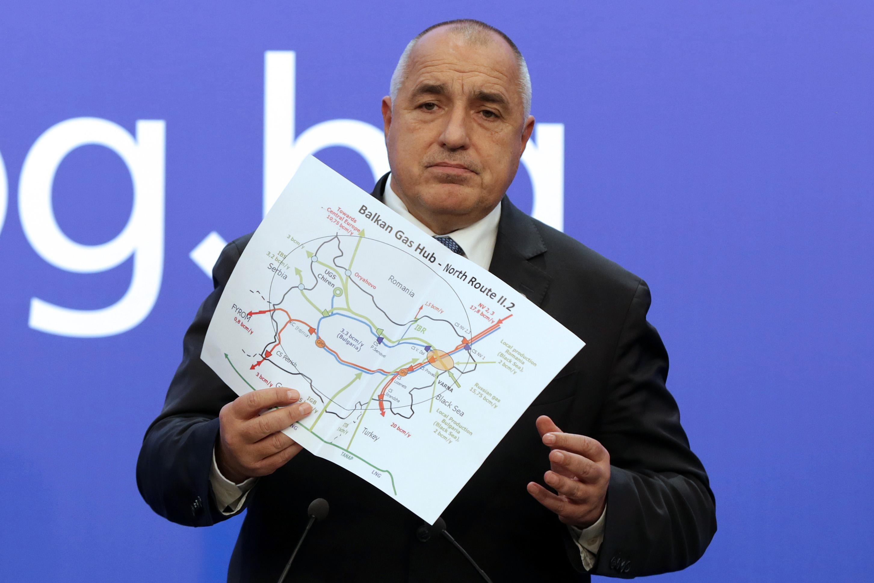 """Юнкер и Борисов с картата на европейския газов хъб """"Балкан"""""""