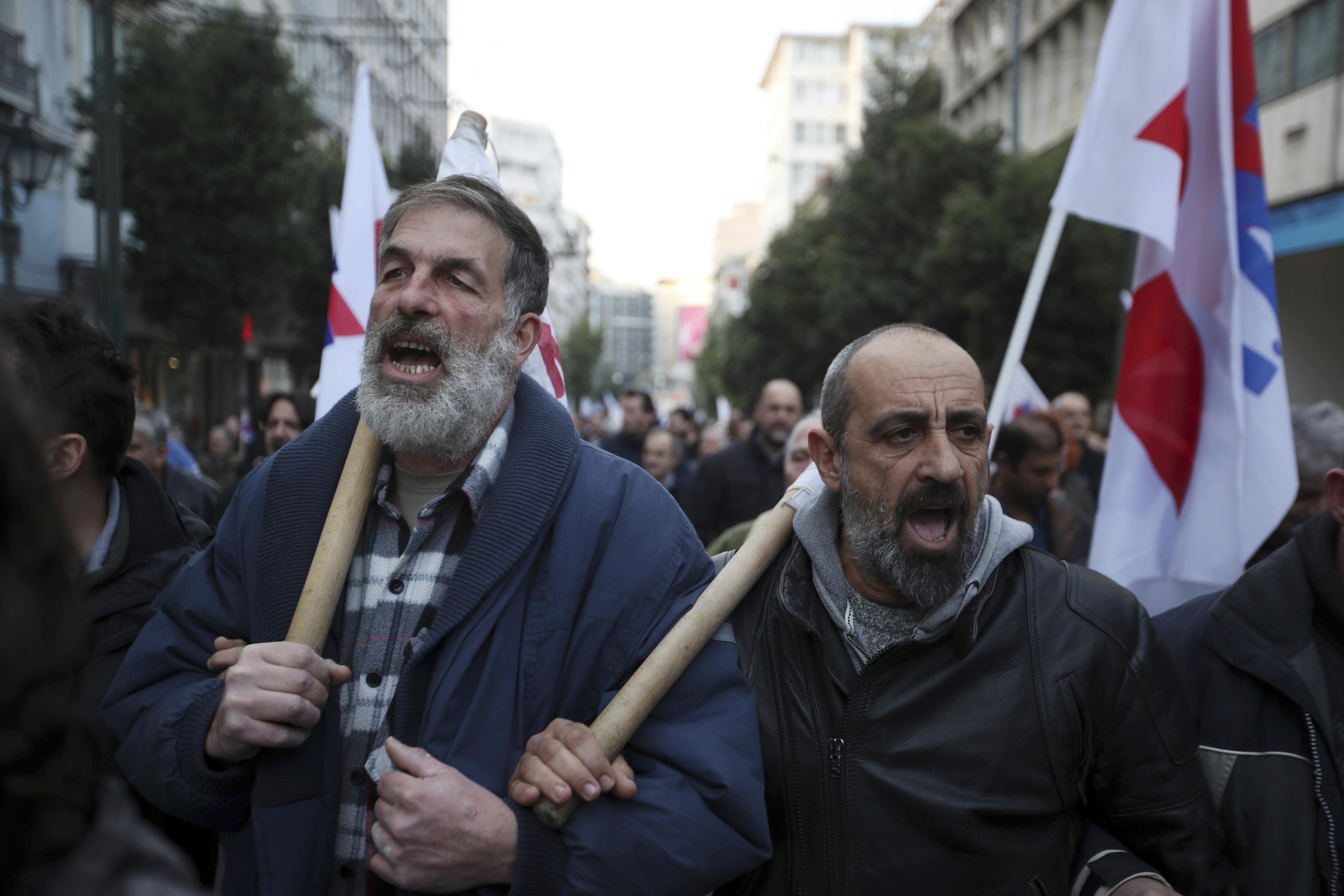 Средната пенсия в Гърция е 894 евро