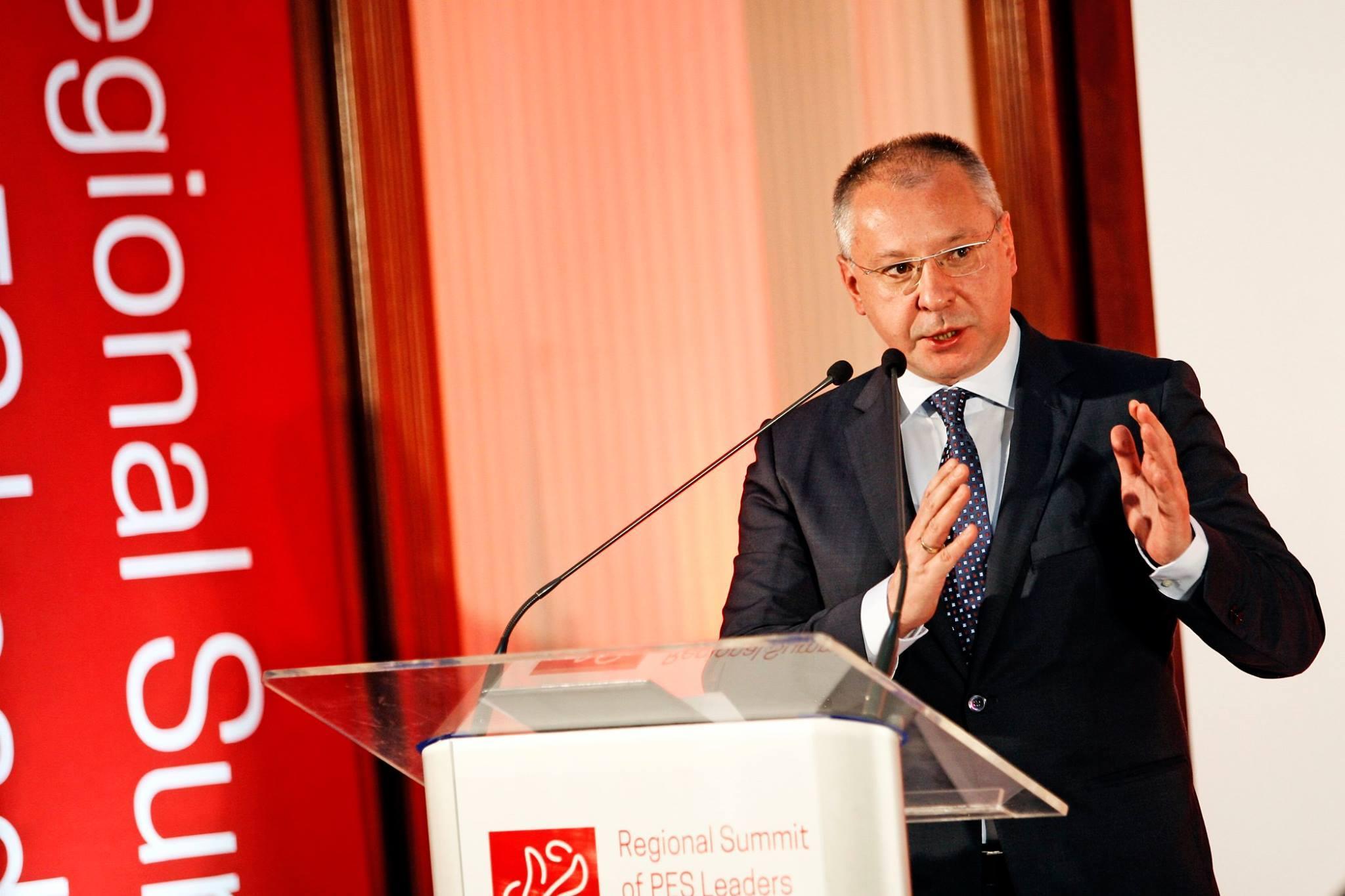 Станишев: Албания и Македония да започнат преговори за ЕС
