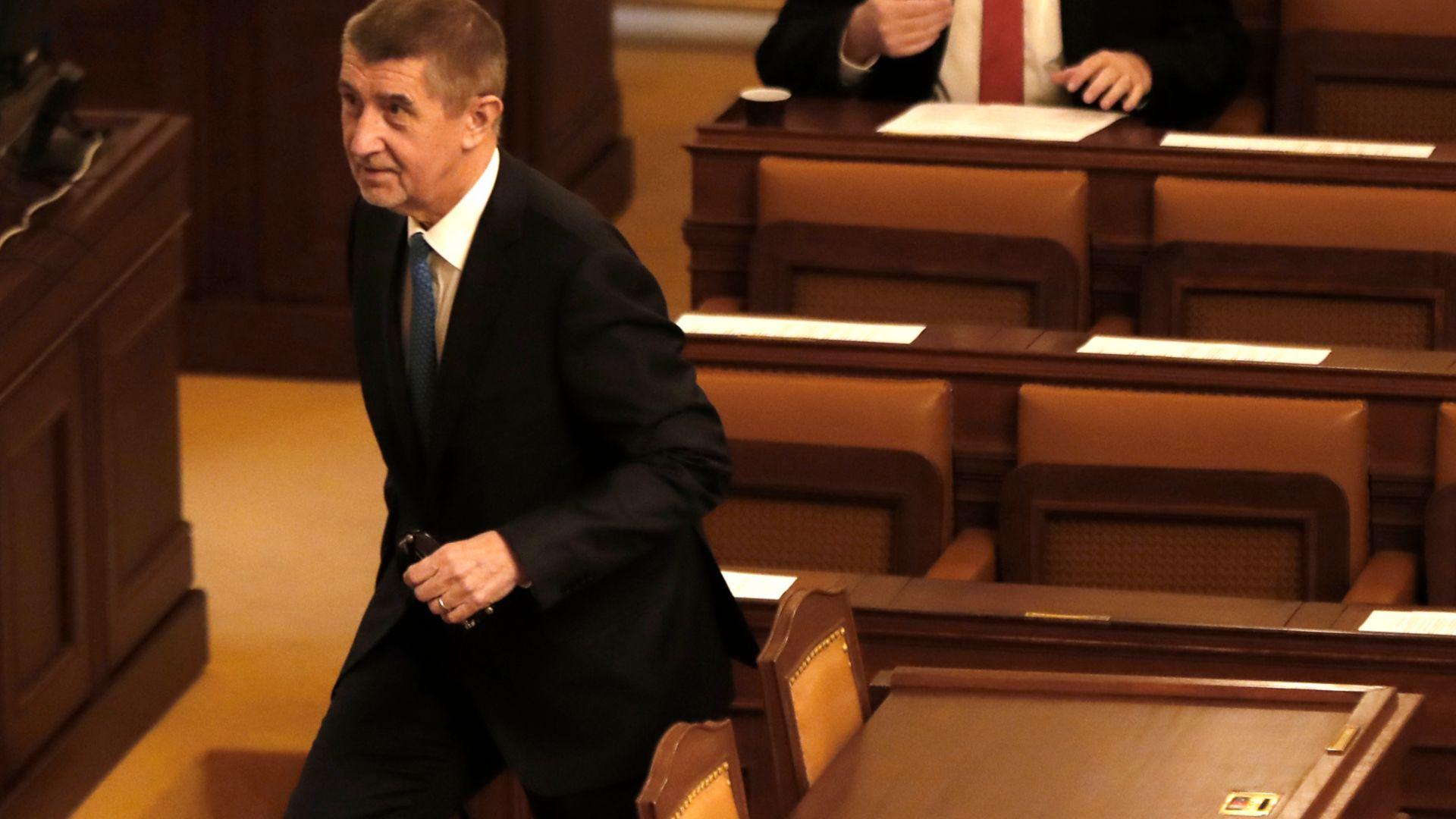 Чехия обяви двама души от руското посолство в Прага за