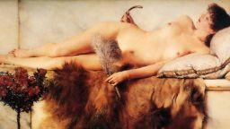 Певецът на мрамора и женското изящество - Лорънс Алма-Тадема