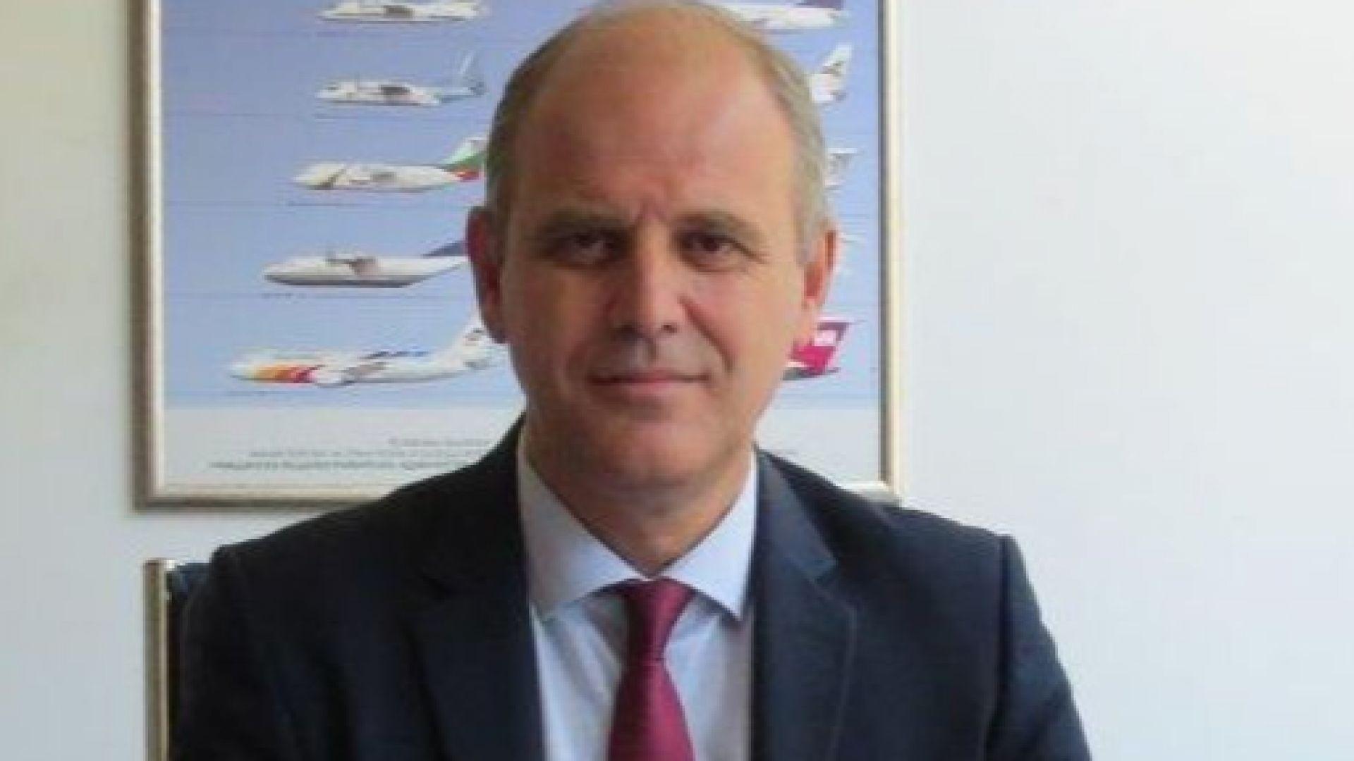 Шефът на софийското летище подаде оставка