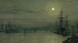 Художникът на нощта и лунния пейзаж - Дж А. Гримшоу