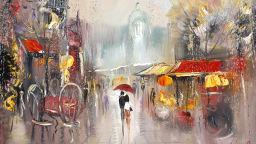 Дъжд в картини