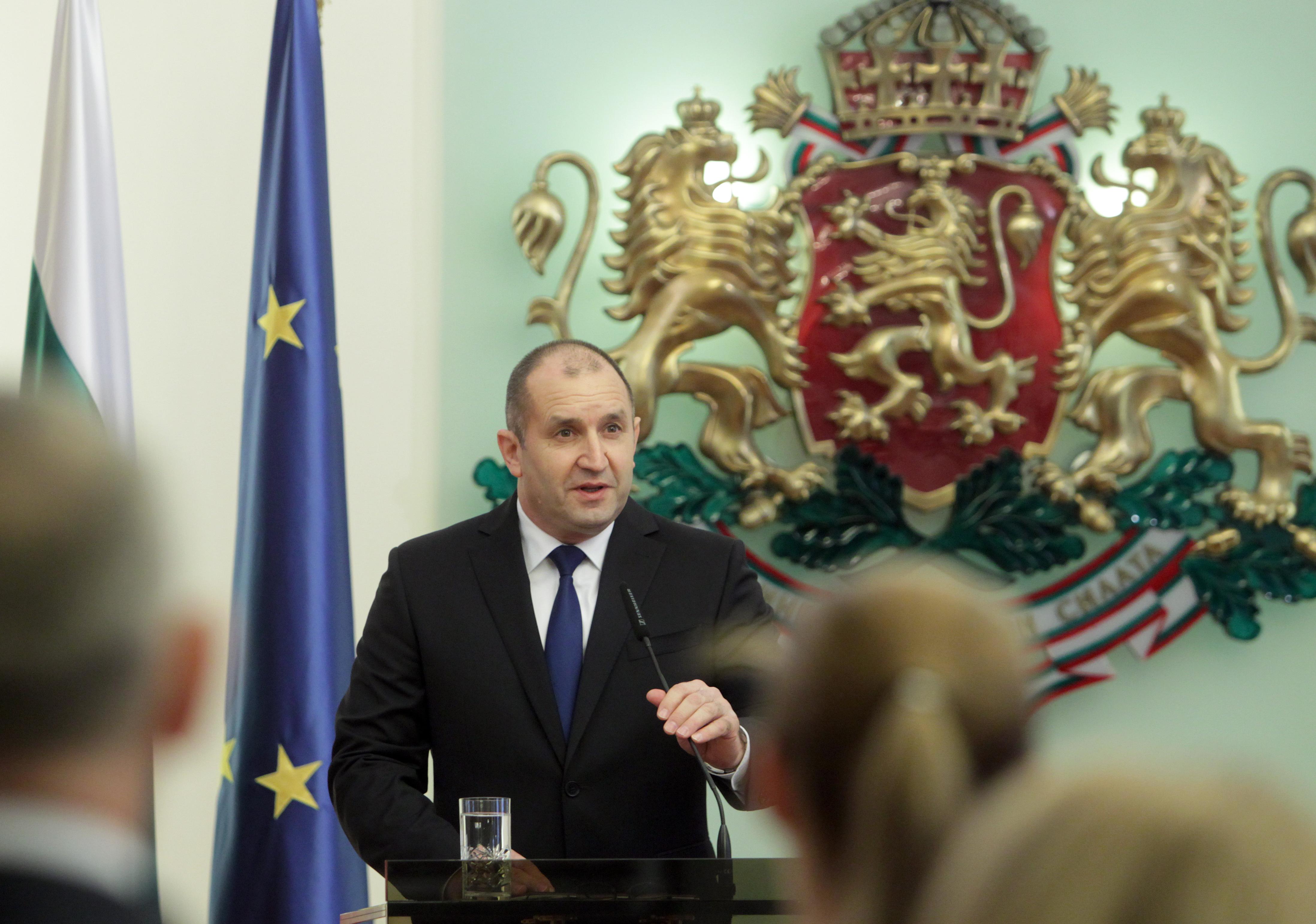 Президентът Румен Радев: Аз не обиждам, а констатирам