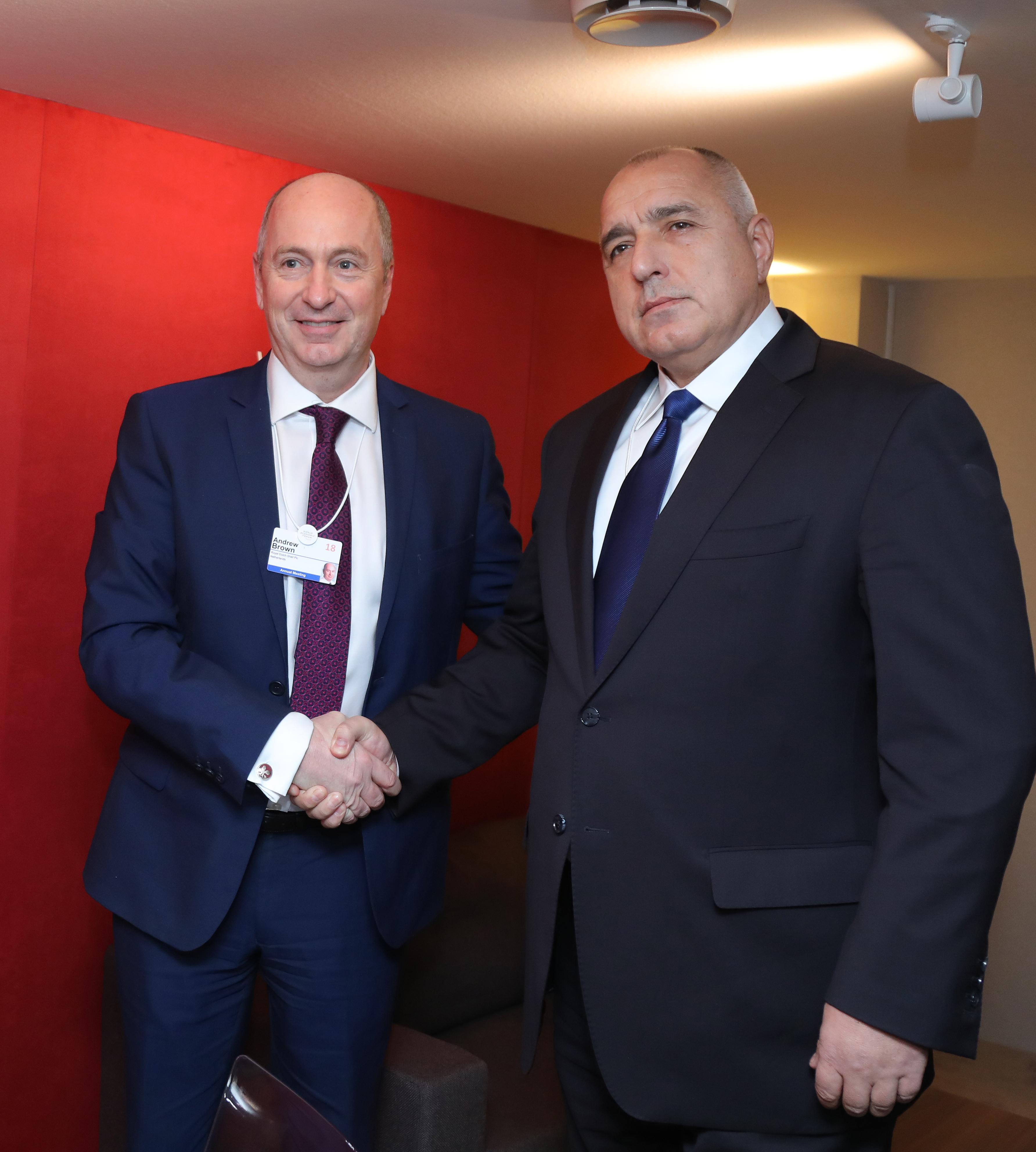 "Борисов обсъди с ""Шел""  сондажите за петрол у нас"
