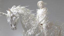 Фантасмагоричните хартиени скулптури на Мотохико Одани