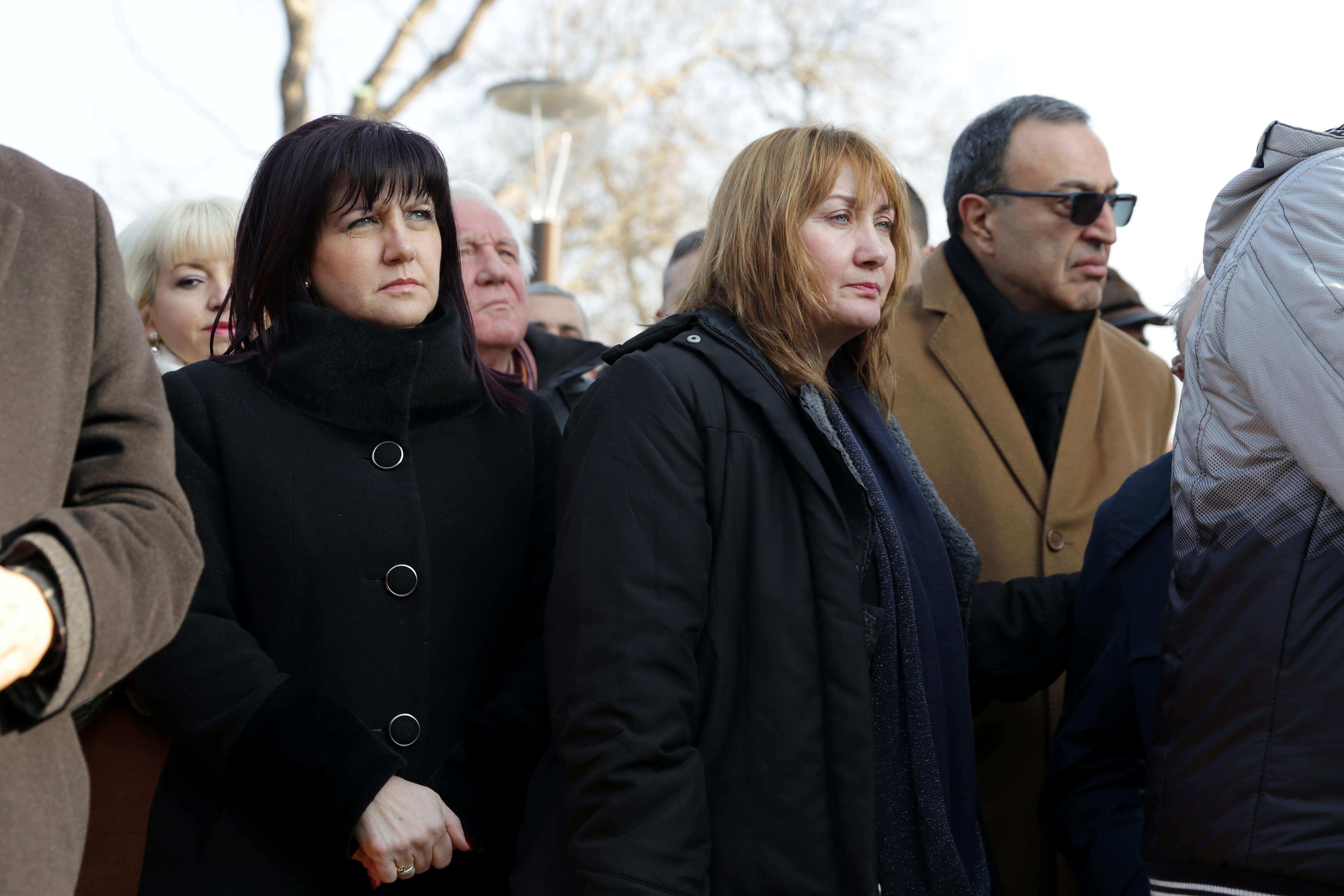 Караянчева и Петър Стоянов почетоха жертвите на комунизма