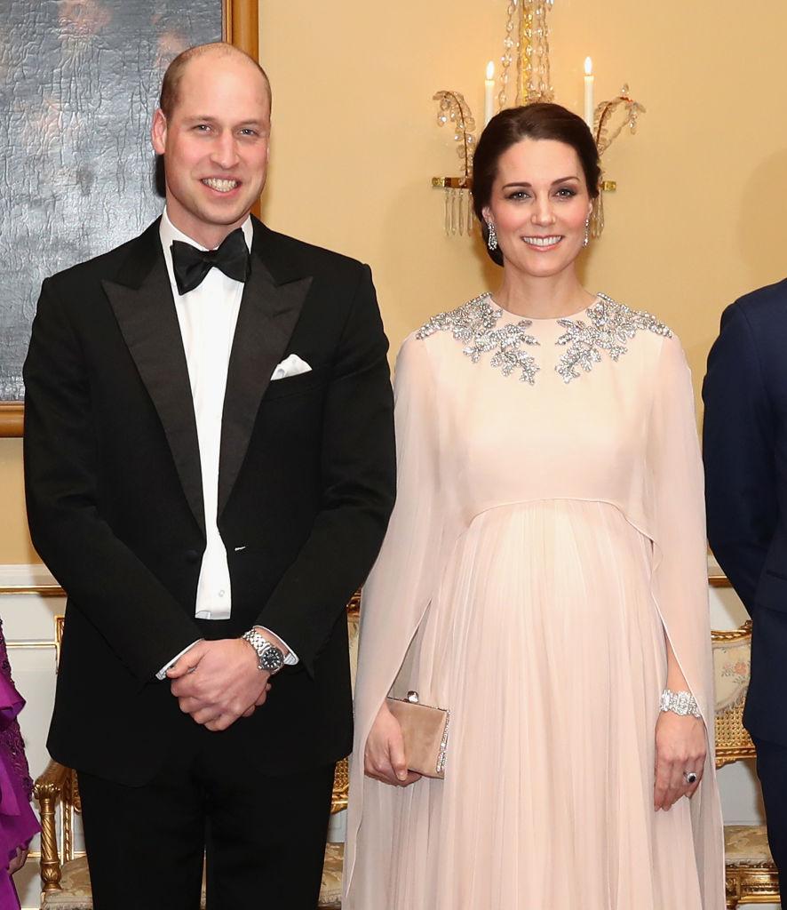 Кейт като истинска принцеса на вечерята в Осло