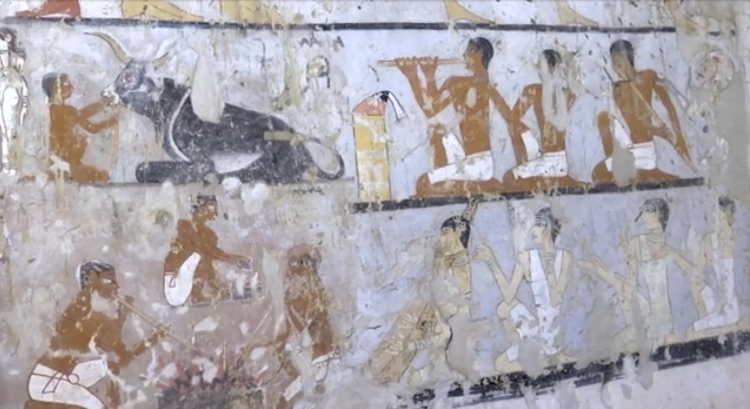 В Египет бе открита гробница на 4400 години