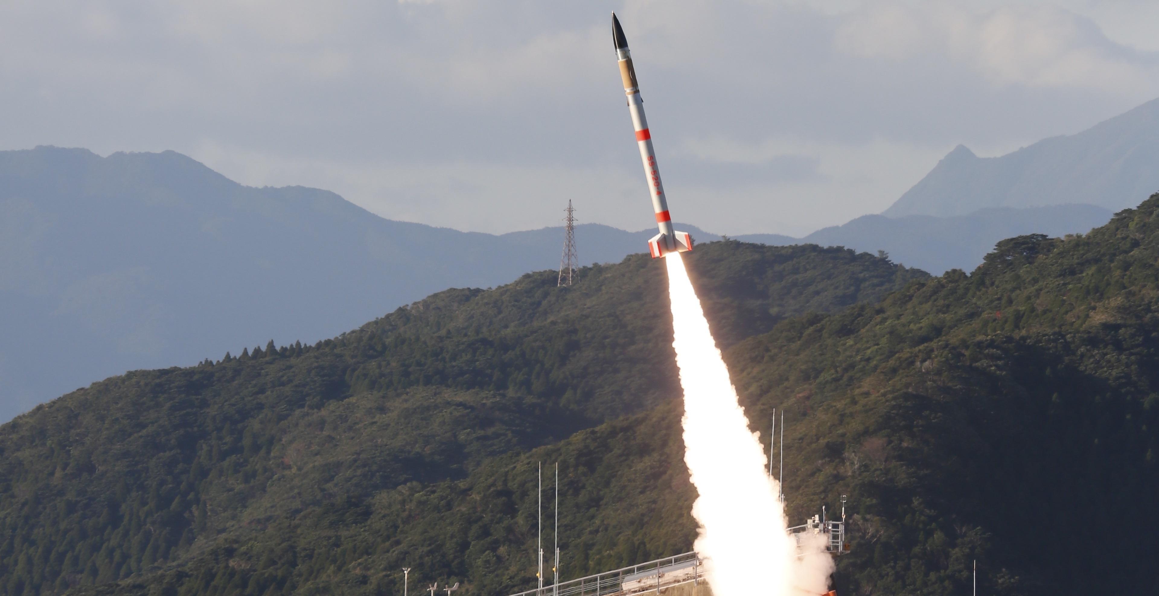 Япония изстреля най-малката ракета в света